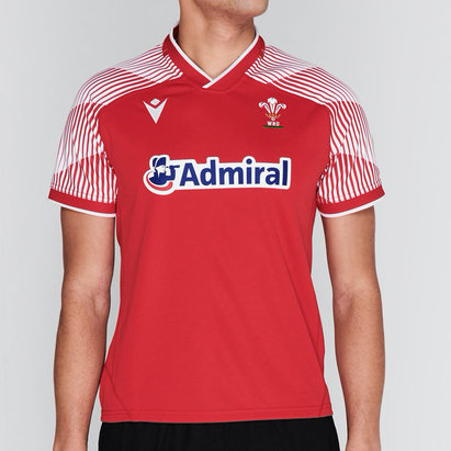 Macron Wales Sevens Home Rugby Shirt 2020 2021
