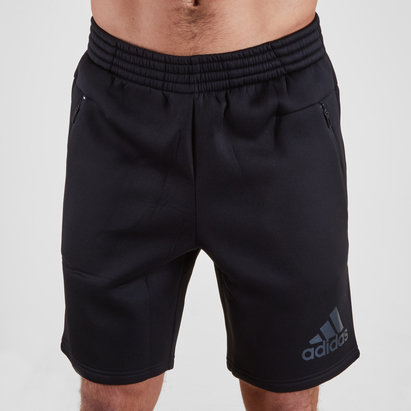 adidas New Zealand All Blacks 2018 Lux Rugby Off Field Shorts