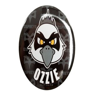Ospreys Supporters Ozzie Button Badge