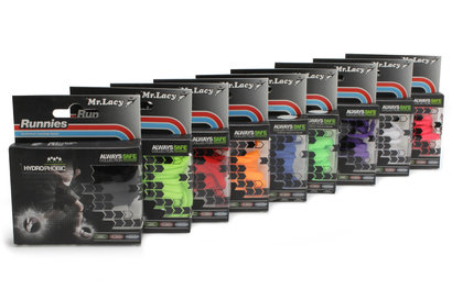 Mr Lacy Hydrophobic Green Neon Performance Laces