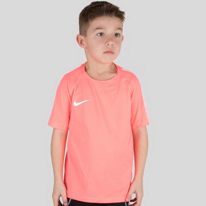Nike Breathe Squad S/S Kids Football Shirt
