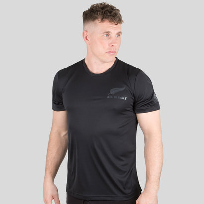 adidas New Zealand All Blacks 2018/19 Players Performance T-Shirt