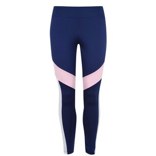 adidas Design 2 Move Colour Block Tights Womens