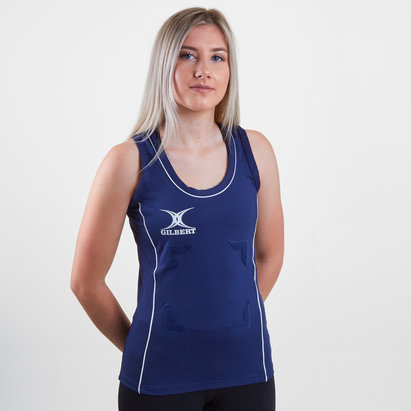 Gilbert Elite Hook & Loop Netball Tank Top