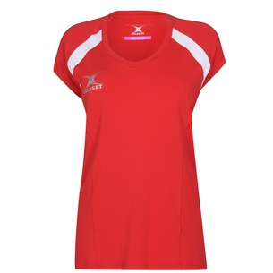 Gilbert Helix II SS Ladies Netball T Shirt