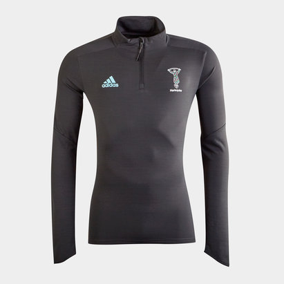 adidas Harlequins 2020/21 1/4 Zip Training Top