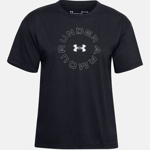Under Armour Graphic Short Sleeve T Shirt Ladies