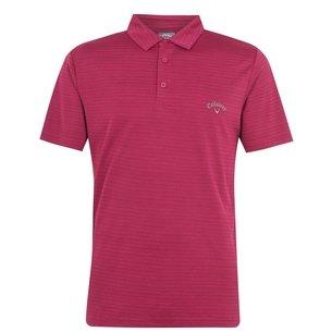 Callaway Herringbone Golf Polo Shirt Mens