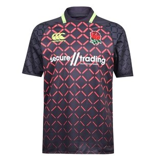 Canterbury England 7s 2018/19 Alternate Pro S/S Rugby Shirt