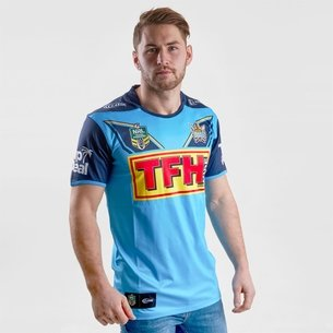 Classic Sportswear Gold Coast Titans 2018 NRL Home S/S Rugby Shirt