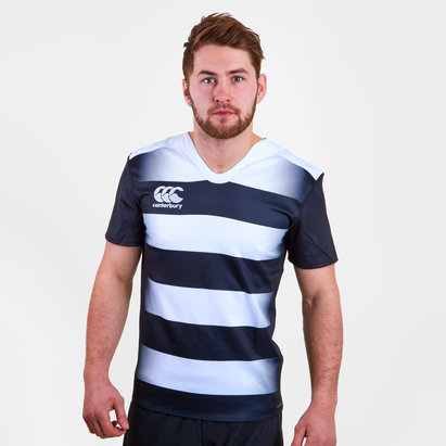 Canterbury Challenge Hooped S/S Rugby Shirt