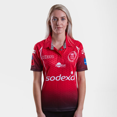 Samurai Army Rugby Union 2018 Ladies Home S/S Rugby Shirt