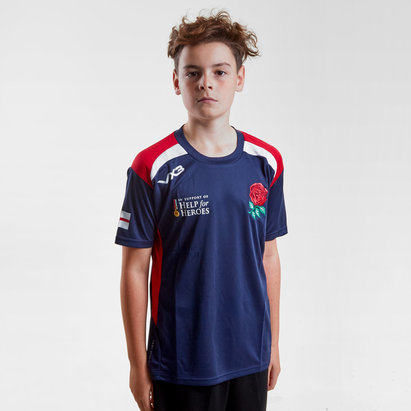 VX-3 Help for Heroes England 2018/19 Kids Rugby T-Shirt