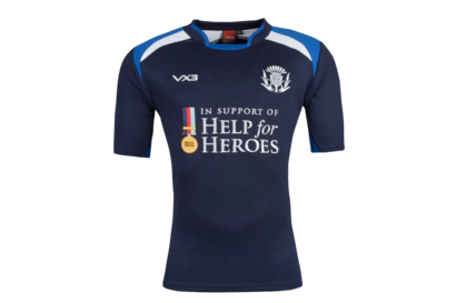 VX-3 Help for Heroes Scotland 2018/19 S/S Rugby Shirt