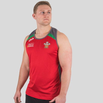 VX-3 Help for Heroes Wales 2018/19 Rugby Vest