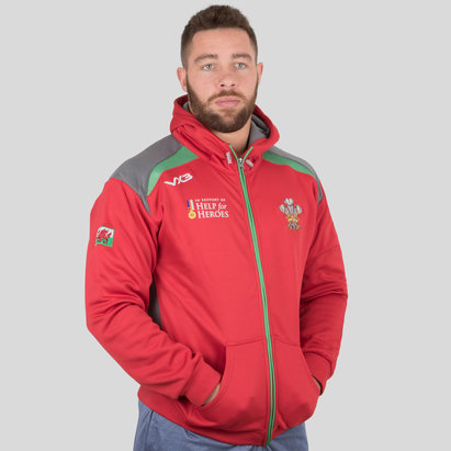 VX-3 Help for Heroes Wales 2018/19 Hooded Rugby Sweat