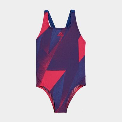 adidas Graphic Swimsuit Junior Girls