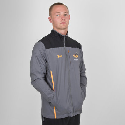 Under Armour Wasps 2019/20 Players Travel Rugby Jacket