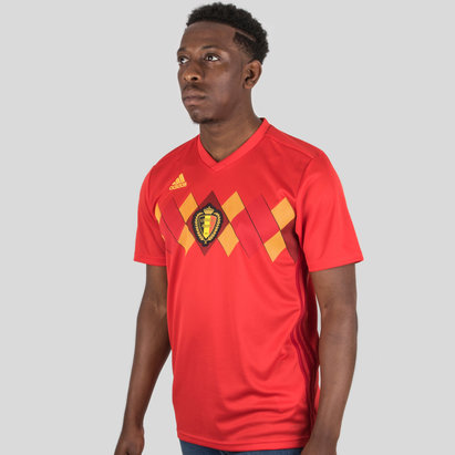 adidas Belgium 2018 Home S/S Replica Football Shirt