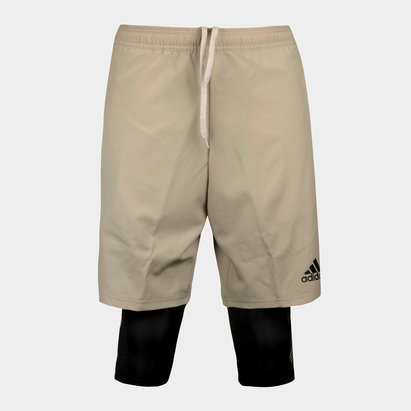 adidas Tango 2 In 1 Training Shorts