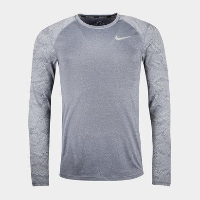 Nike Dry Miler Running L/S Top