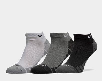 Nike Dry Lightweight No-Show Training Socks 3 Pairs