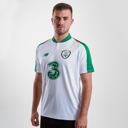 New Balance Republic of Ireland 18/19 Away S/S Replica Football Shirt