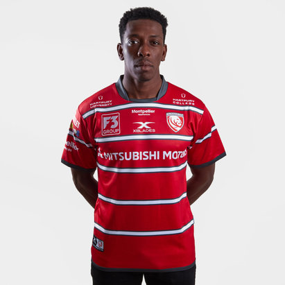 X Blades Gloucester 2018/19 Home S/S Replica Rugby Shirt