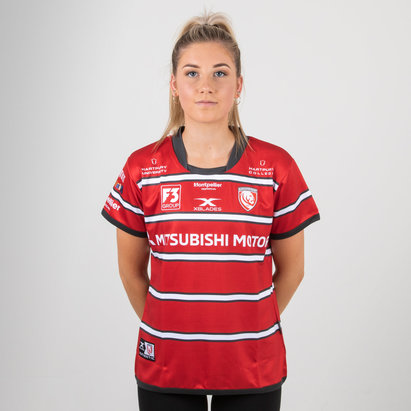 X Blades Gloucester 2018/19 Ladies Home S/S Replica Rugby Shirt