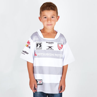 X Blades Gloucester 2018/19 Alternate Kids S/S Replica Rugby Shirt