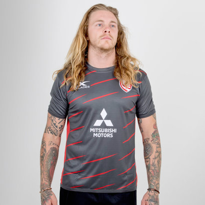 Gloucester 2018/19 Players Rugby Training T-Shirt