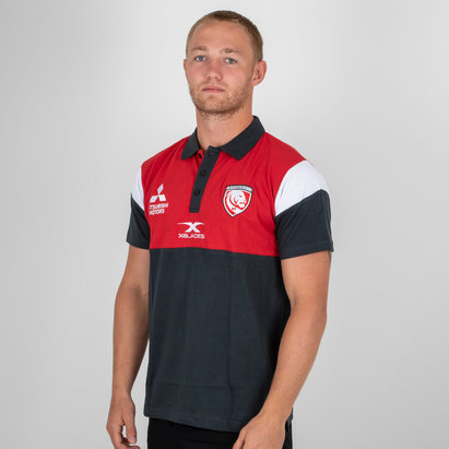X Blades Gloucester 2018/19 Players Rugby Polo Shirt