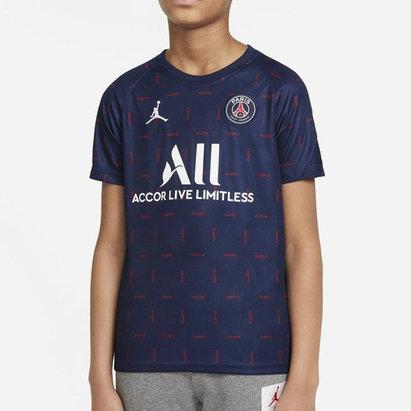 Nike Paris Saint Germain x Jordan Pre Match Shirt 2021 2022