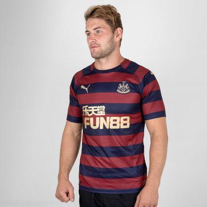 Puma Newcastle United 18/19 Away Replica S/S Football Shirt