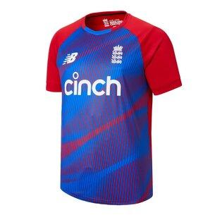 New Balance England T20 Shirt Mens