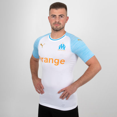 Puma Olympic Marseille 18/19 Home Authentic S/S Football Shirt