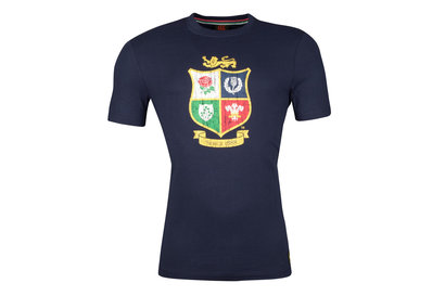 Canterbury British and Irish Lions Mens Crest T-Shirt