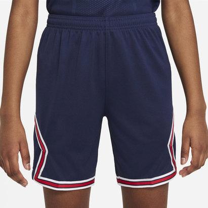 Nike Paris Saint Germain x Jordan Home Shorts 2021 2022 Junior
