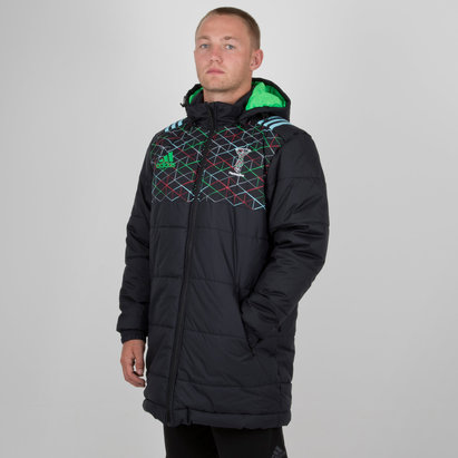 adidas Harlequins 2018 Players Stadium Rugby Jacket