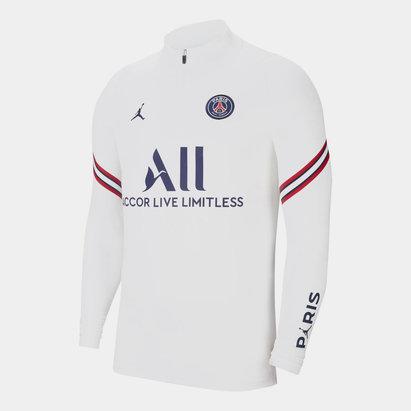 Nike Paris Saint Germain x Jordan Strike Drill Top 2021 2022 Mens