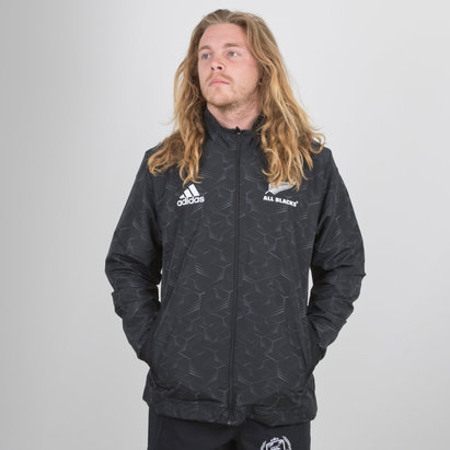 adidas New Zealand All Blacks 2018/19 Players Presentation Jacket