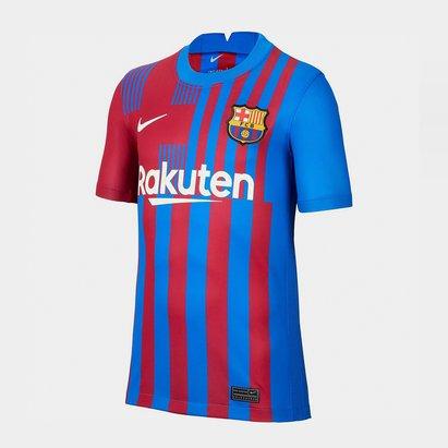 Nike Barcelona Home Shirt 2021 2022 Junior