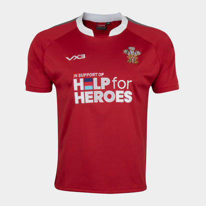 VX-3 Help 4 Heroes Wales Short Sleeve Jersey