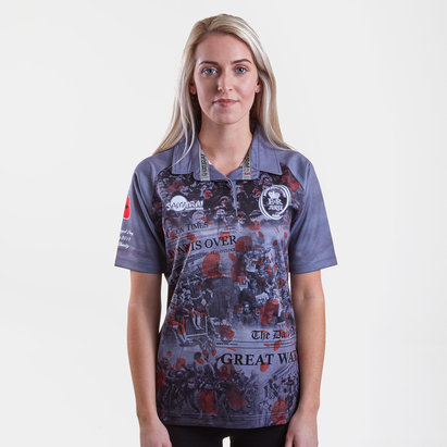 Samurai Army Rugby Union Replica Shirt Womens