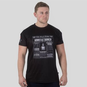 Samurai Army Rugby Union WWI Commemorative Headlines Rugby T-Shirt