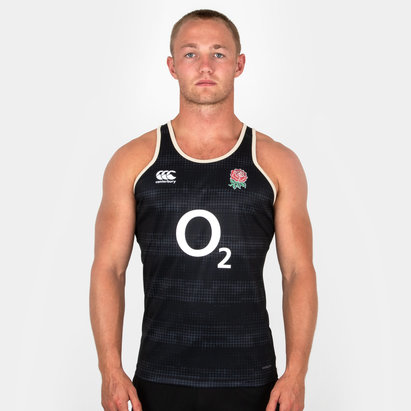 Canterbury England 2018/19 Players Rugby Training Singlet
