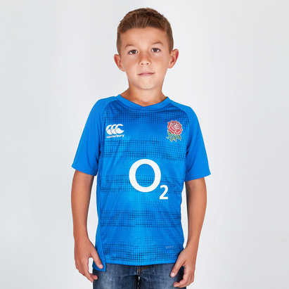 Canterbury England 2018/19 Kids Graphic Rugby T-Shirt
