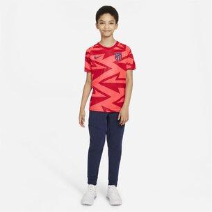 Nike Atletico Madrid Pre Match Shirt 2021 2022 Junior
