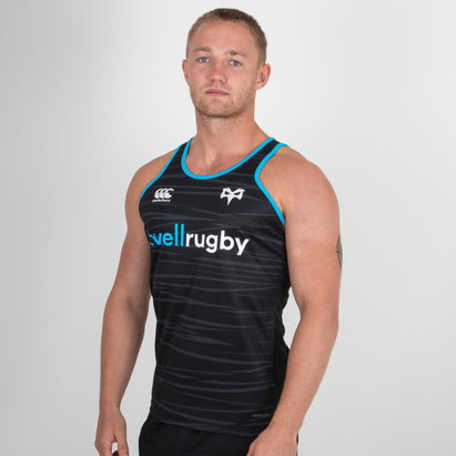 Canterbury Ospreys 2018/19 Players Poly Rugby Training Singlet