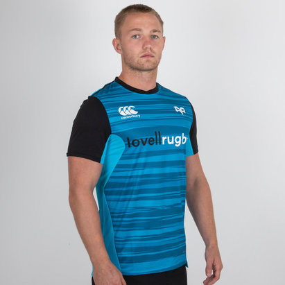 Canterbury Ospreys 2018/19 Players Drill Rugby Training T-Shirt